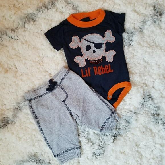 bce91a55abf0 Carter's Matching Sets | Boys Newborn Lil Rebel Okie Dokie 2 Piece ...